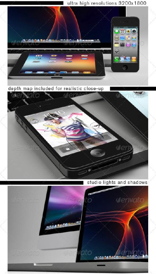 GraphicRiver iClose-up Mockup