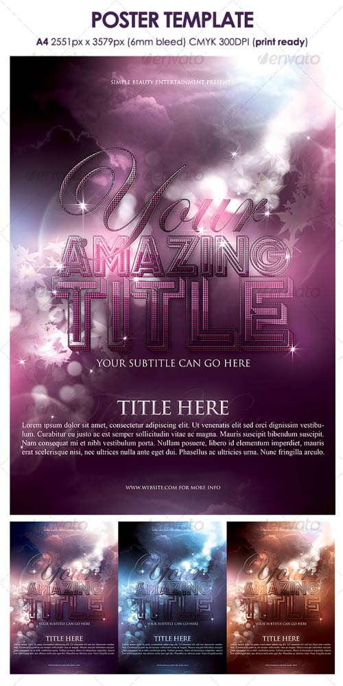 GraphicRiver Poster Template 118226