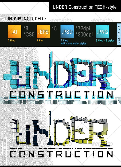 GraphicRiver Under Construction Tech