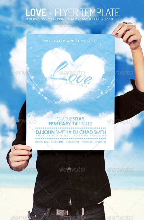 GraphicRiver Love - Flyer Template