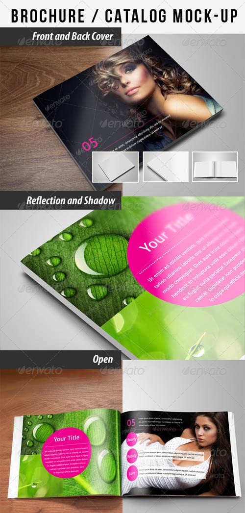 GraphicRiver Brochure / Catalog Mock-Up