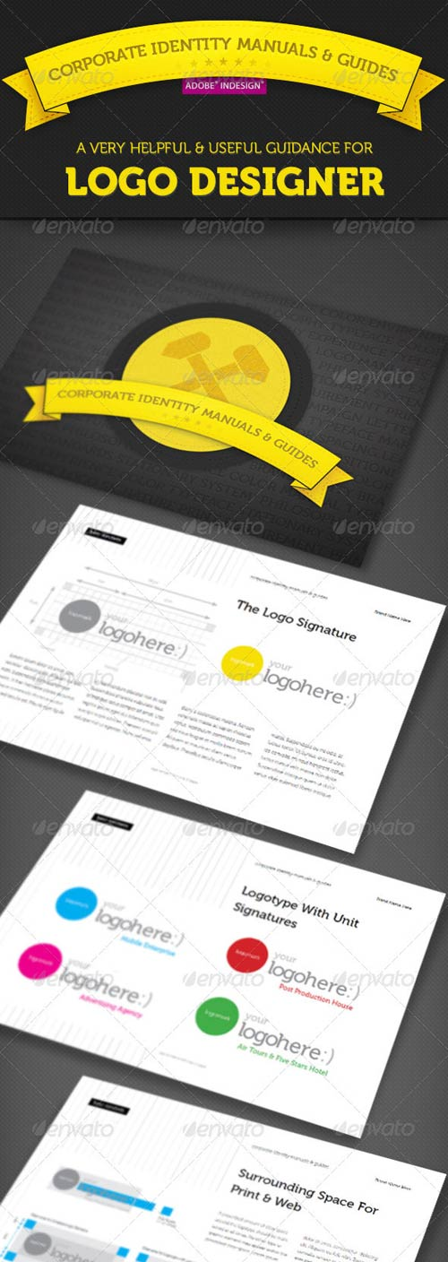 GraphicRiver Corporate Identity Manuals and Guides Template