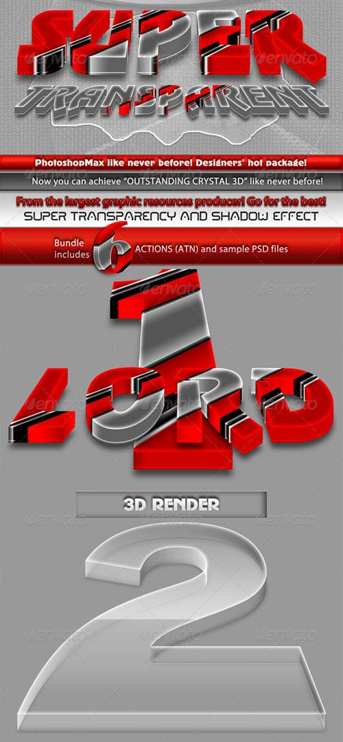 GraphicRiver Super 3D Transparent