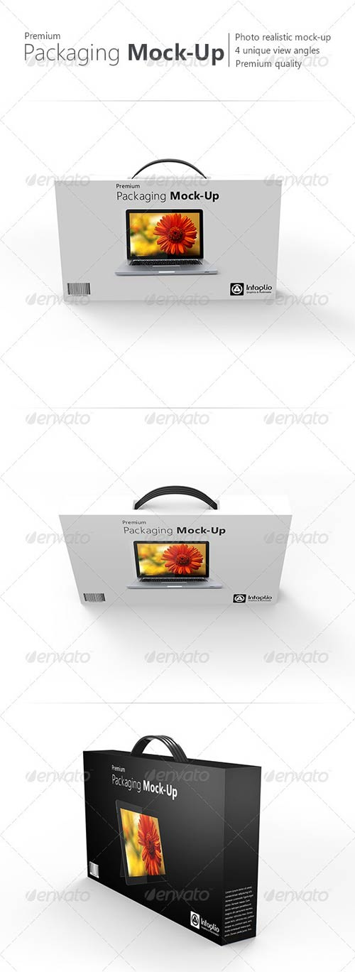 GraphicRiver Premium Packaging Mock-Up