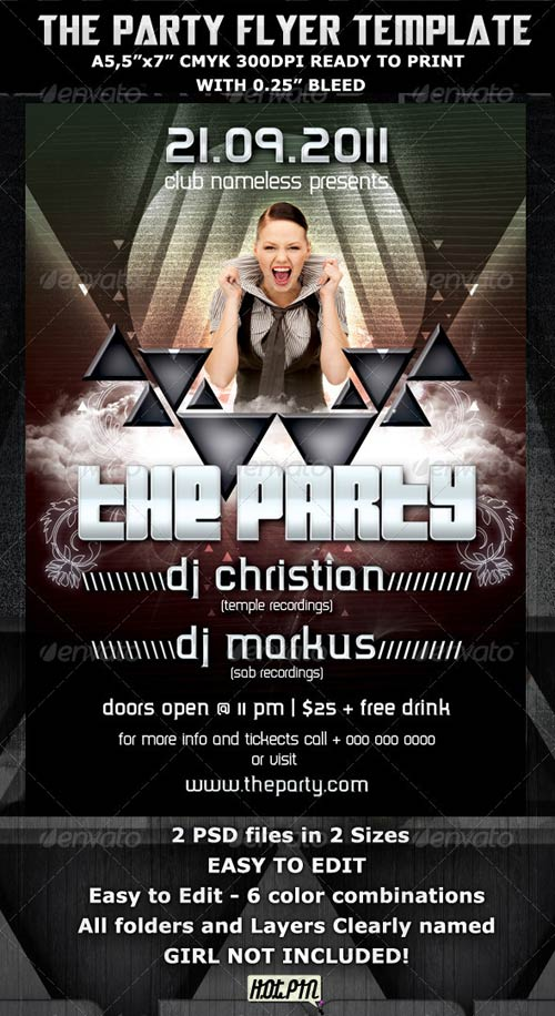 GraphicRiver The Party Club Flyer Template