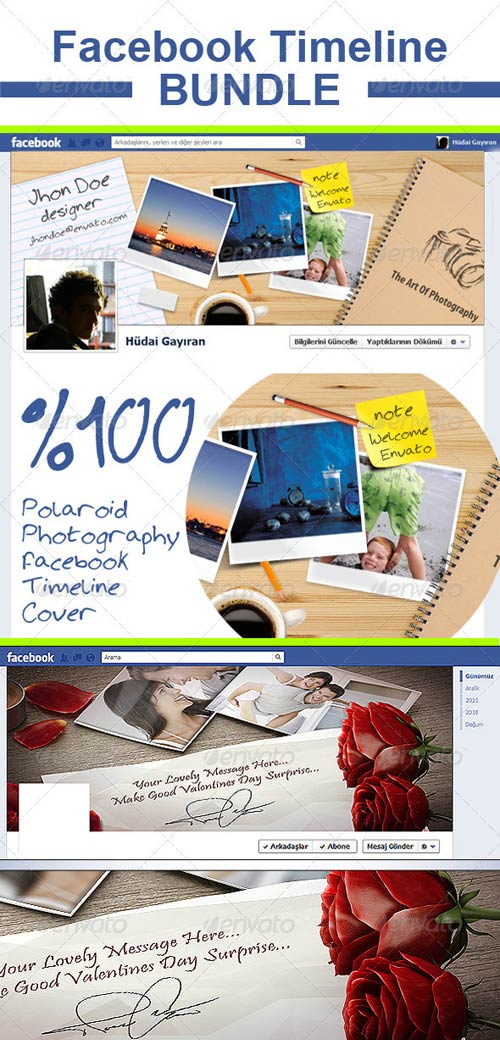 GraphicRiver Facebook Timeline Cover Bundle