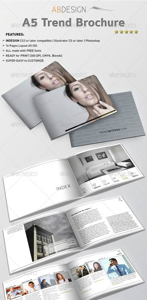 GraphicRiver A5 Trend Brochure