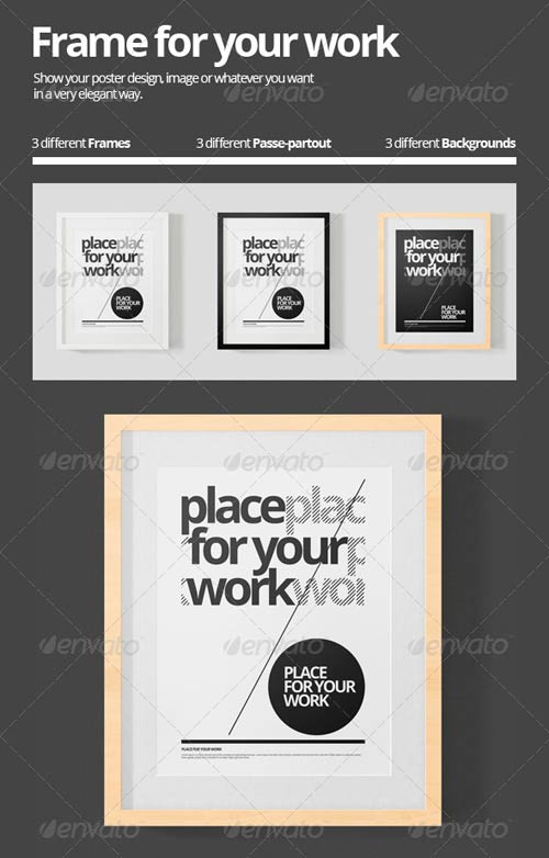 GraphicRiver Frame for your Work