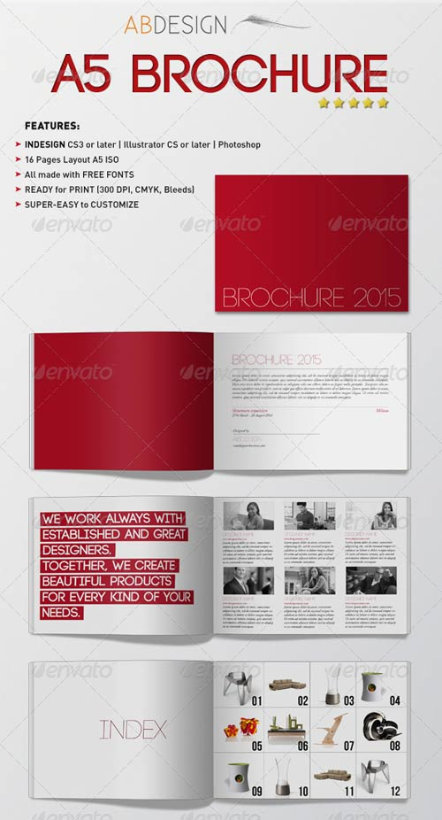 GraphicRiver A5 Brochure
