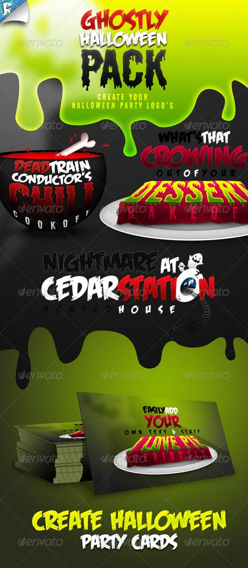 GraphicRiver Ghostly Halloween - Create your Halloween Party