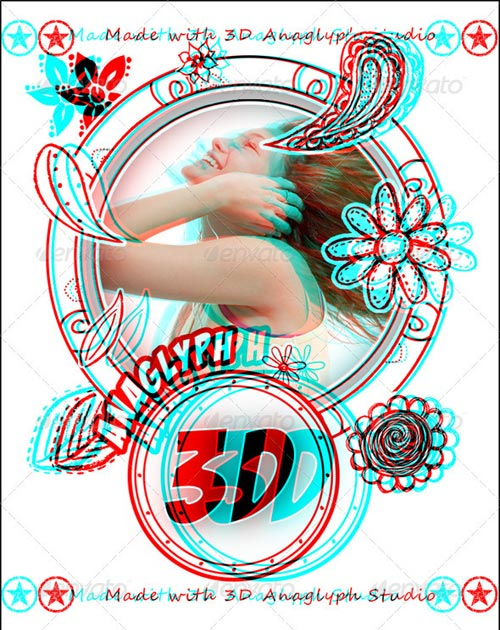 GraphicRiver 3D Anaglyph Studio