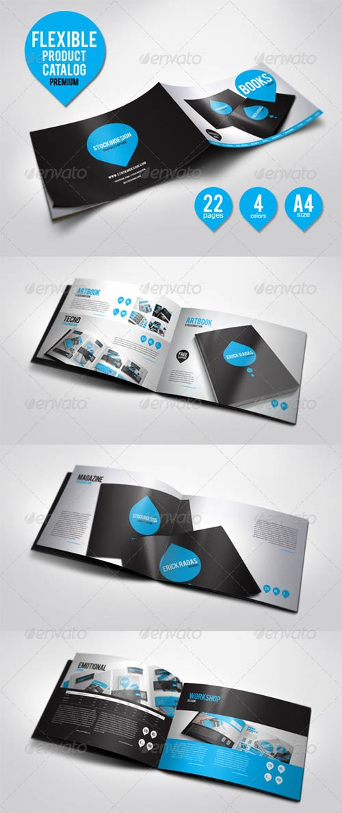 GraphicRiver Flexible Product Catalog - Unlimited Colors