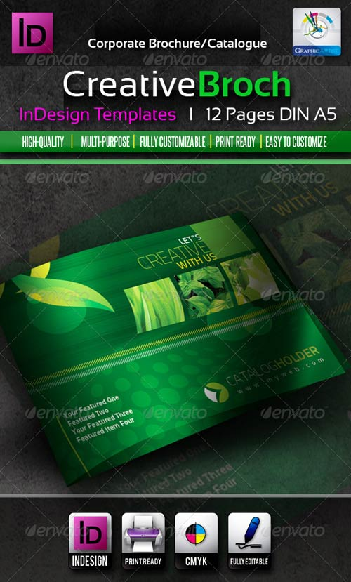 GraphicRiver Creative InDesign Brochure/Catalogue 12pages