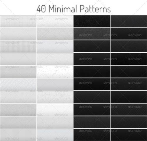 GraphicRiver Tileable Minimal Patterns