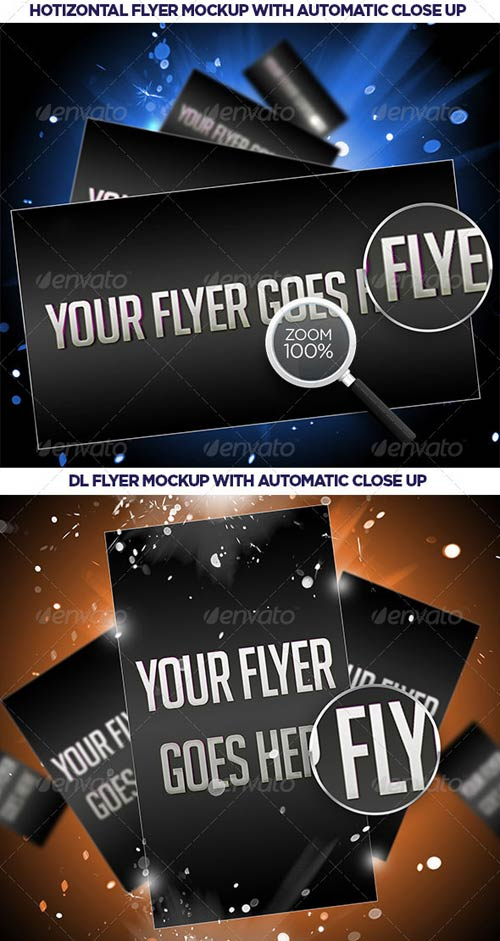 GraphicRiver 4 Impact Flayer Mockup