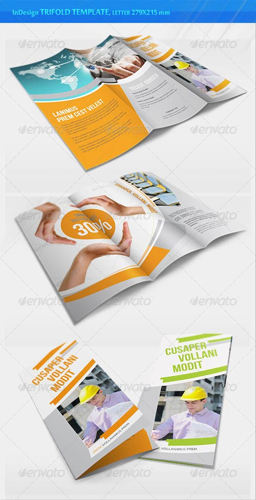 GraphicRiver Business Trifold Brochure - v2
