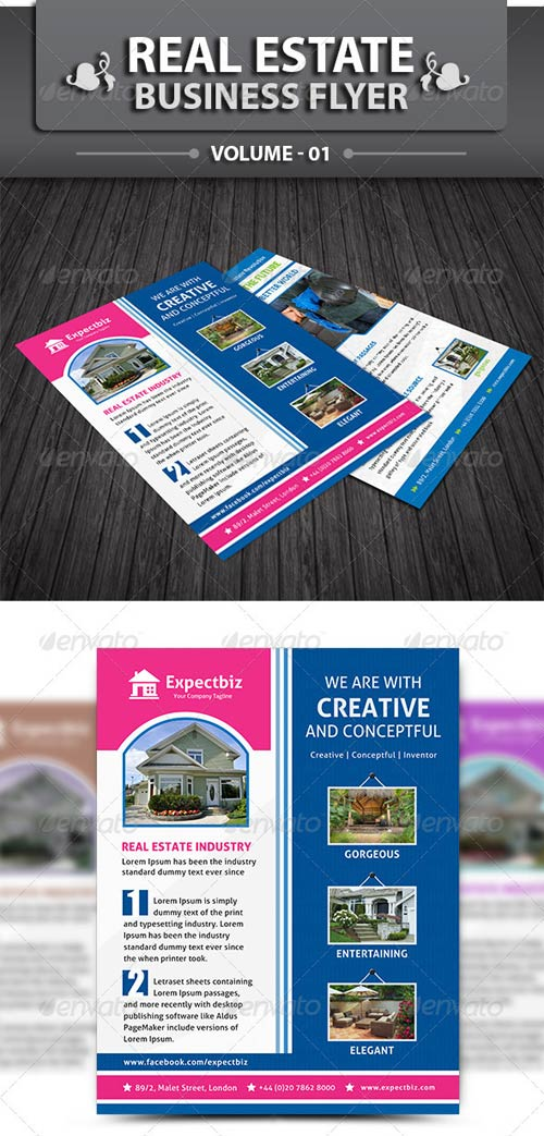 GraphicRiver Real Estate Business Flayer