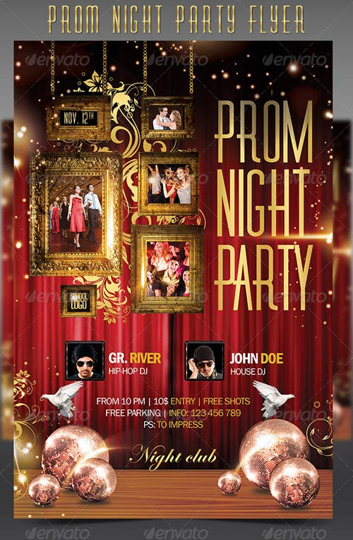 GraphicRiver Prom Night Party