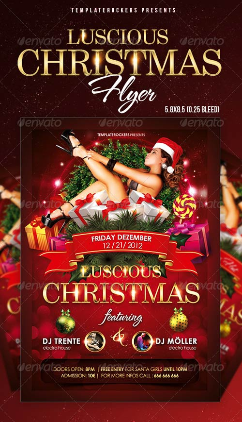 GraphicRiver Luscious Christmas Flyer