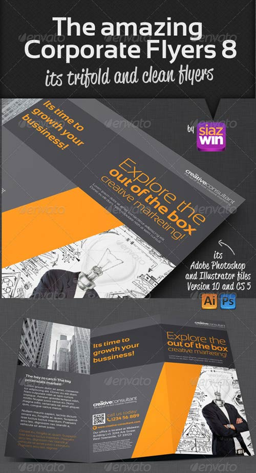 GraphicRiver The Amazing Corporate Flyers 8