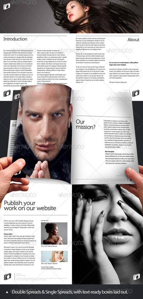 GraphicRiver Press-Kit Style Brochure Design