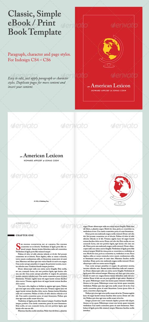 GraphicRiver Classic Simple eBook/Print Book Template