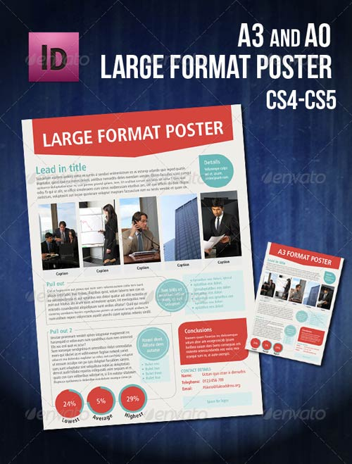 GraphicRiver Infographic A0/A3 poster