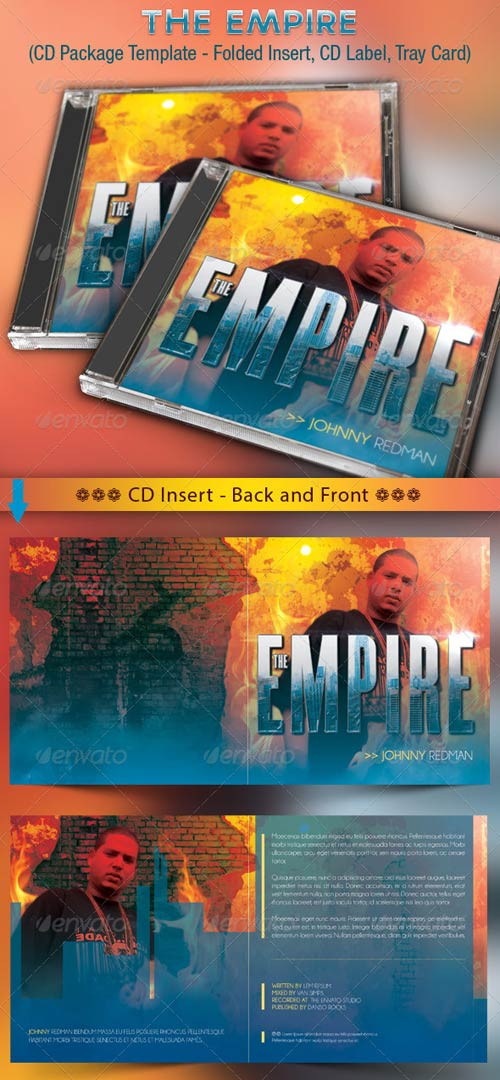GraphicRiver The Empire CD Cover Artwork Template