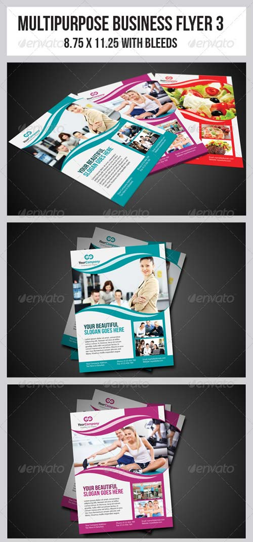 GraphicRiver Multipurpose Business Flyer 3