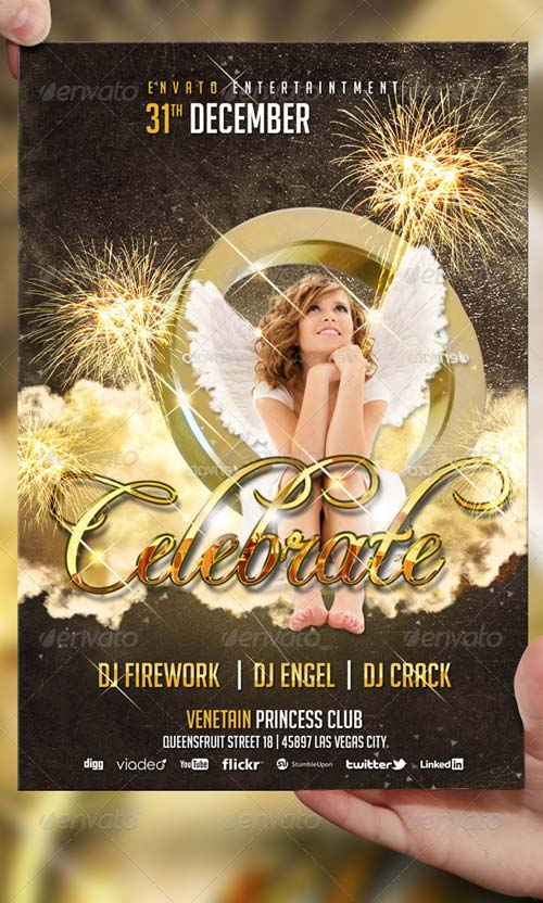 GraphicRiver Celebrate Party Flyer Template