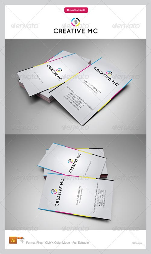 GraphicRiver Corporate Business Cards 110