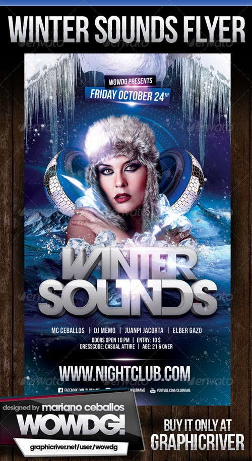 GraphicRiver Winter Sounds