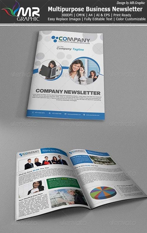 GraphicRiver Multipurpose Business Newsletter