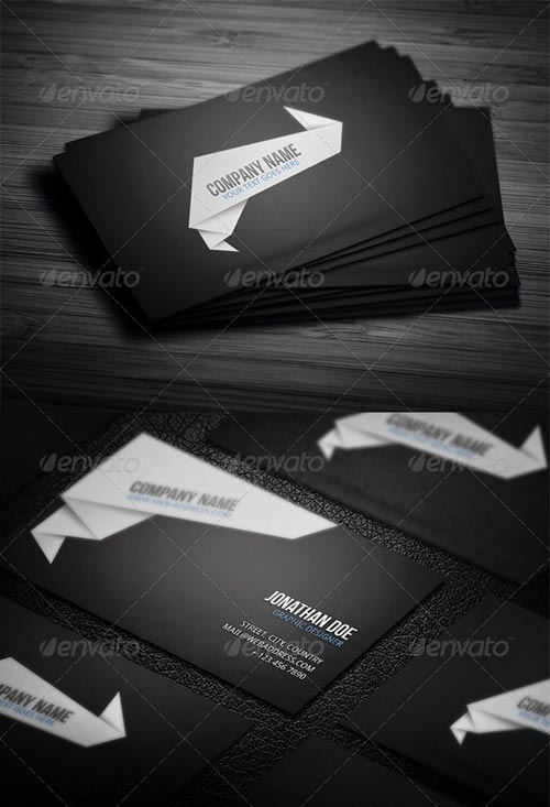 GraphicRiver Corporate Business Card N4