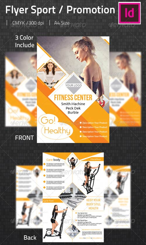 GraphicRiver Flyer Sport & Promotions