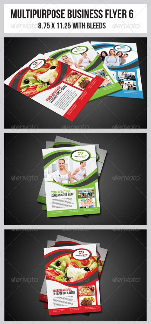 GraphicRiver Multipurpose Business Flyer 6