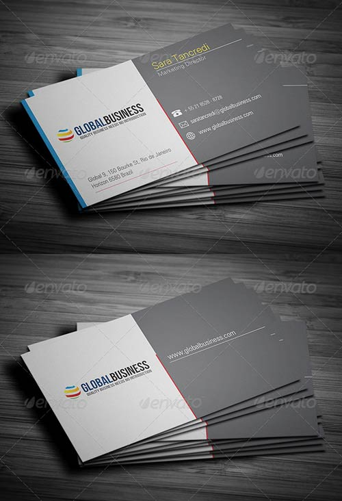 GraphicRiver Corporate Business Card 24