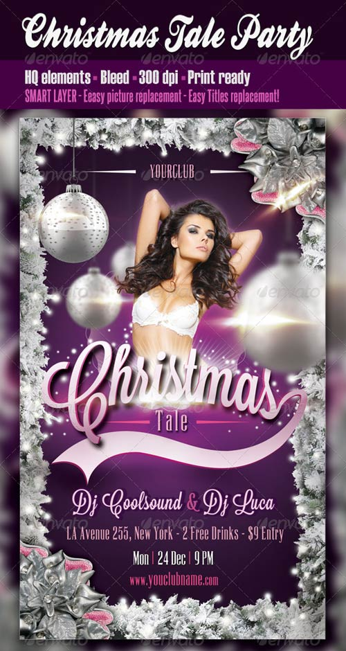 GraphicRiver Christmas Tale Party