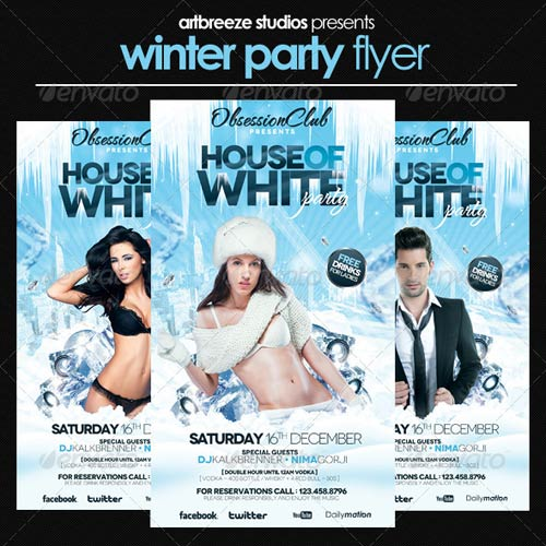GraphicRiver Winter Party