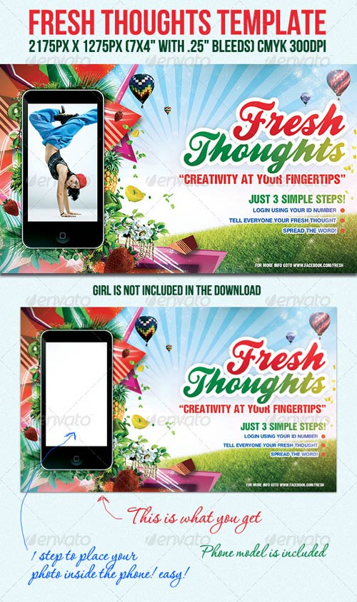 GraphicRiver FreshThoughts Flyer Template
