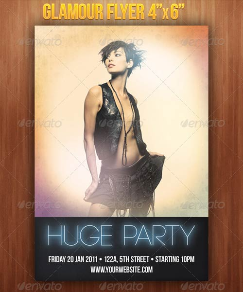 GraphicRiver Glamour Flyer