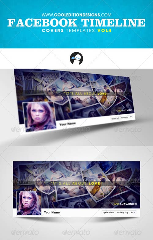 GraphicRiver Facebook Timeline Covers Templates VOL4