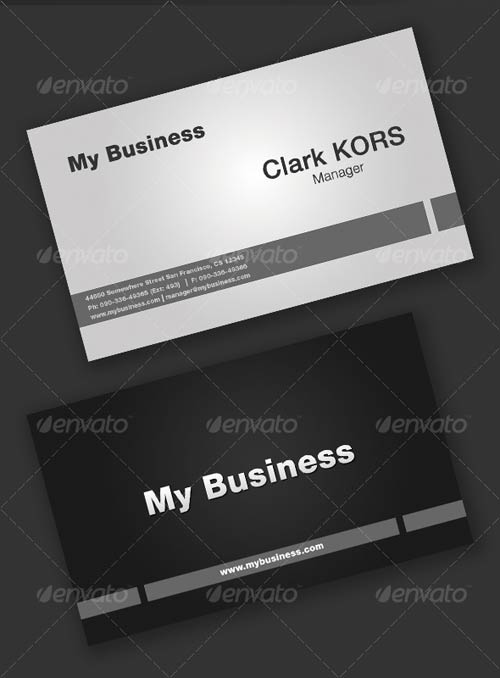 GraphicRiver My Business Card