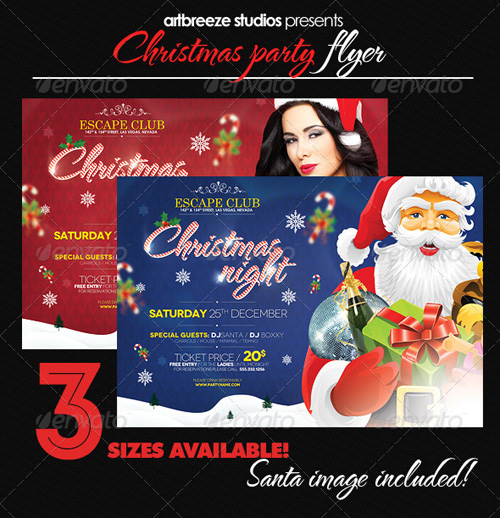 GraphicRiver Christmas Party 3396972