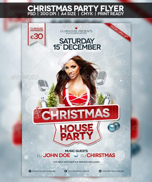 GraphicRiver Christmas Flyer | Poster 3397121