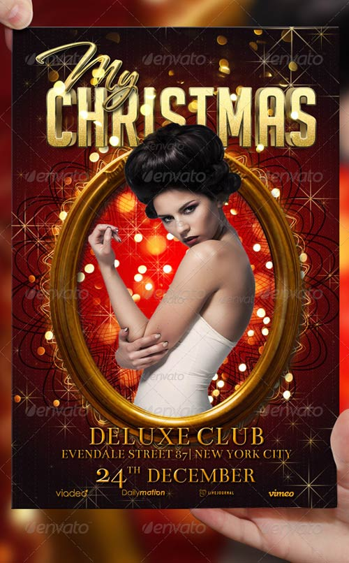 GraphicRiver My Christmas Flyer Template