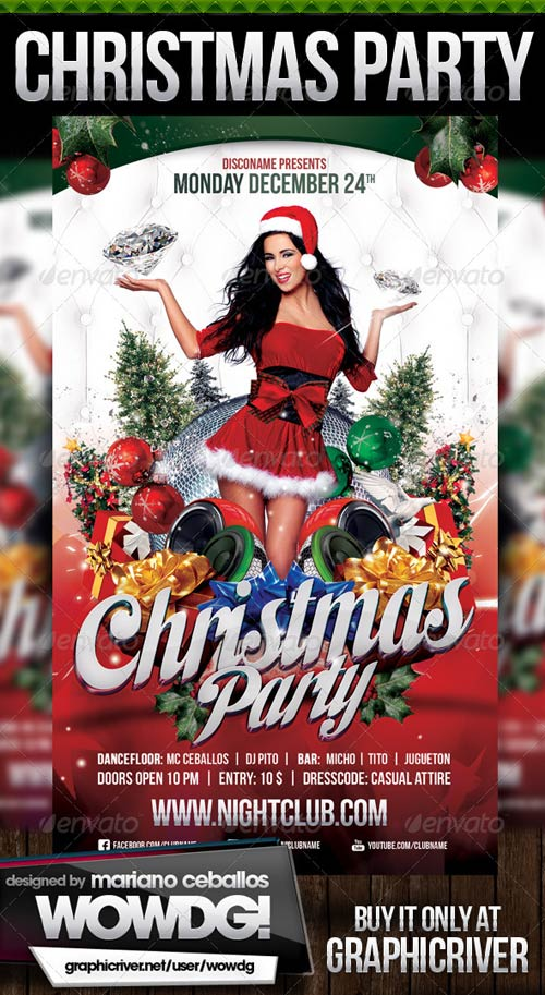 GraphicRiver Christmas Party 3333671