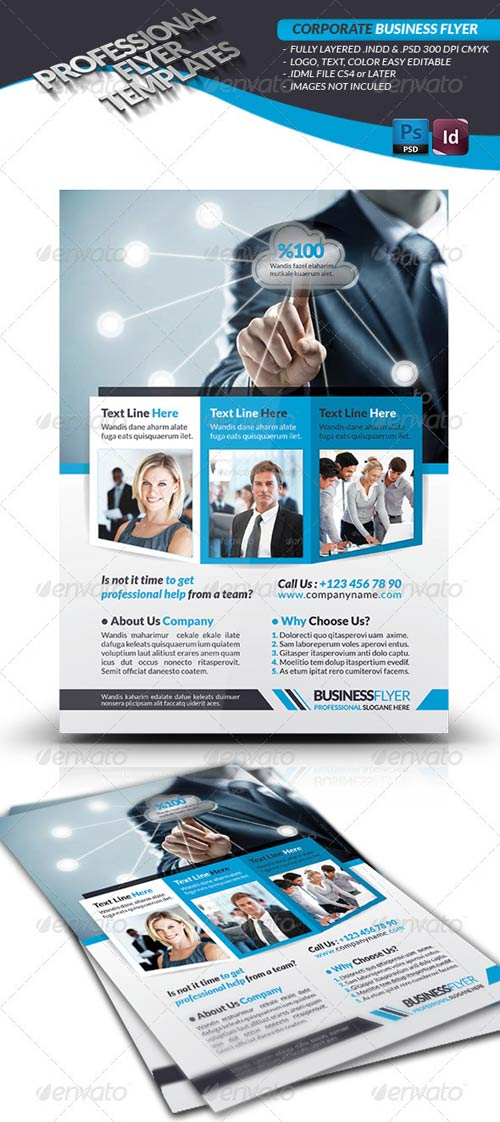 GraphicRiver Corporate Business Flyer