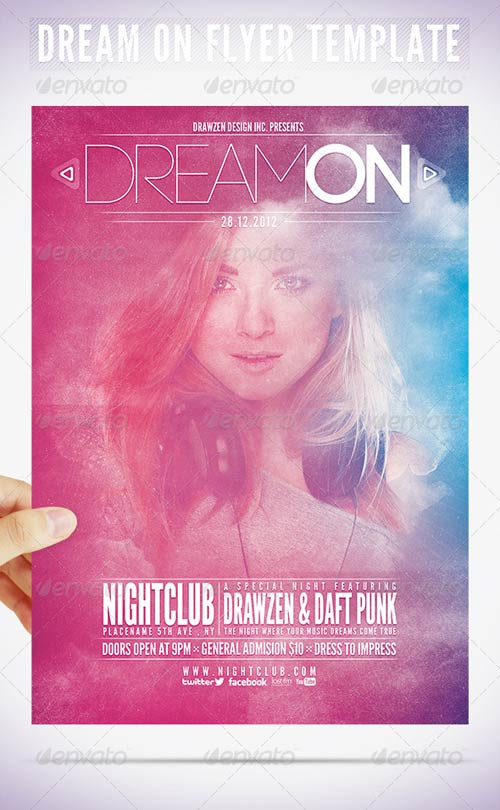 GraphicRiver Dream On Flyer Template