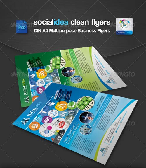 GraphicRiver Socialidea Corporate Social Media Flyer/Ads